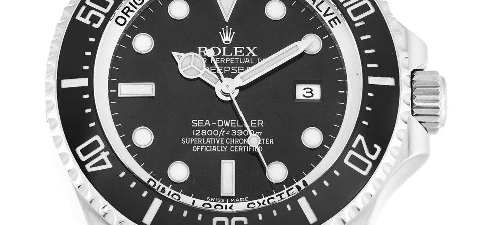 Rolex Deepsea orologio falso ispirato da James Cameron